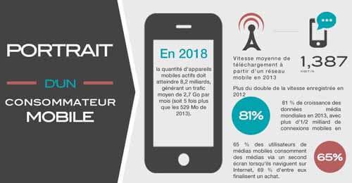 Marketing : Portrait du Consommateur mobile